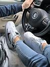 Кроссовки Nike Air FORCE 1 low White женские и мужские, фото 4