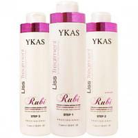 Кератин для выпрямления волос Ykas Rubi Набор 1000 мл