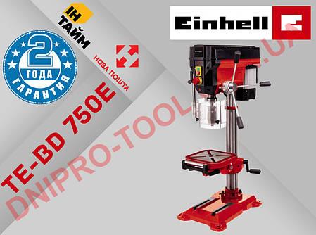 Настольный сверлильный станок Einhell TE-BD 750 E New (BT-BD 401 501 701 801 Германия), фото 2