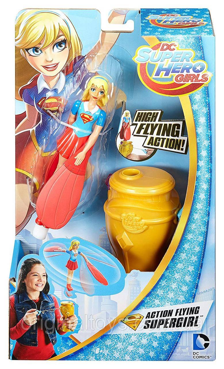 Кукла Летающая Супердевушка DC Super Hero Girls Super Girl Slingshot DRH14