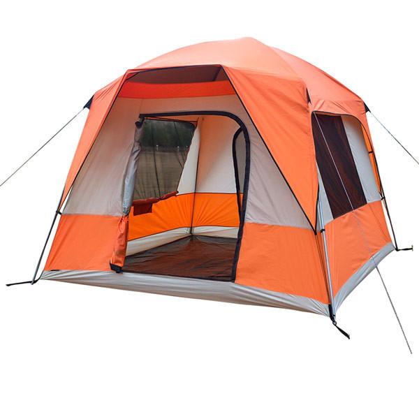 Палатка 4+2 местная GreenCamp 10