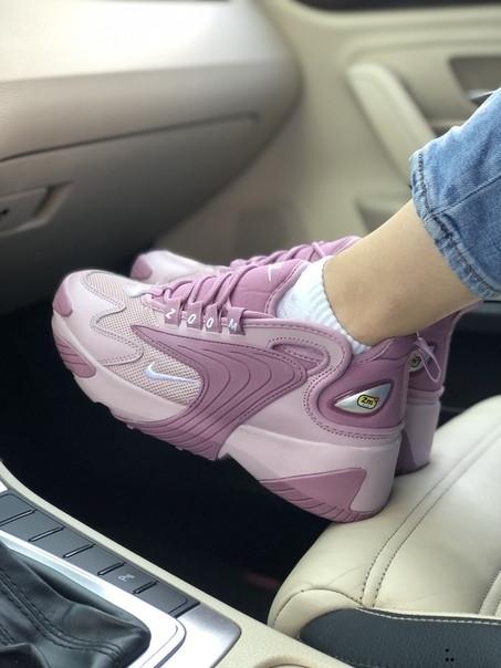 Кроссовки женские Nike ZOOM 2K лавандовые