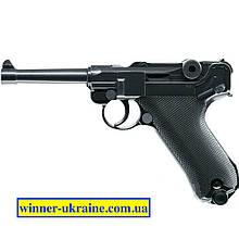 Пневматичний пістолет KWC P-08 Luger KMB41D