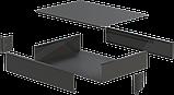 Корпус металевий Rack 2U, модель MB-2310SP (Ш483(432) Г312 В88) чорний, RAL9005(Black textured), фото 3