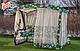 Гойдалка садова Мілан Стандарт (розкладна), фото 5