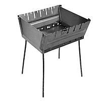 Мангал - чемодан 2 мм на 6 шампуров