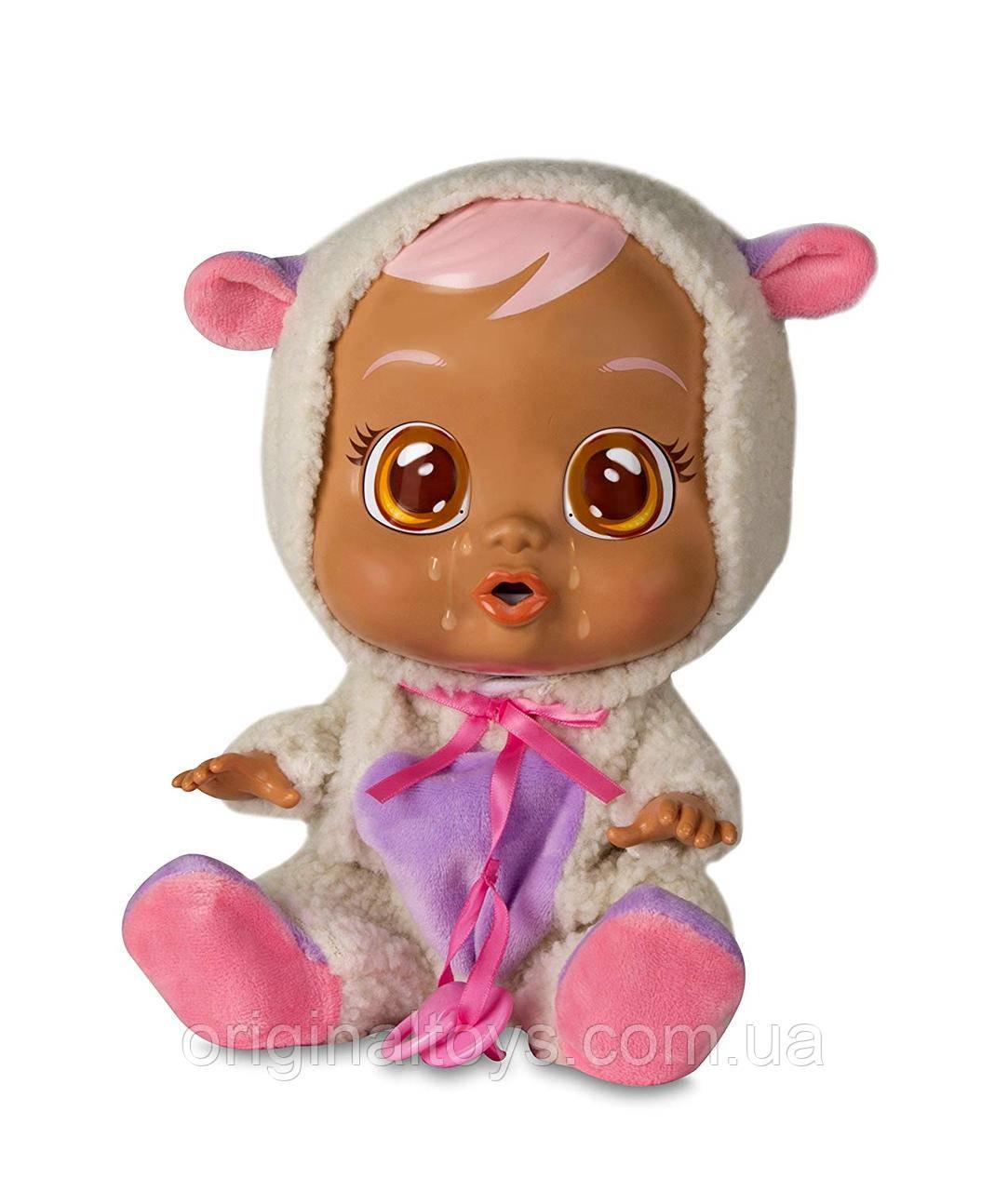 Інтерактивна лялька пупс Cry Babies Плакса Ламмі