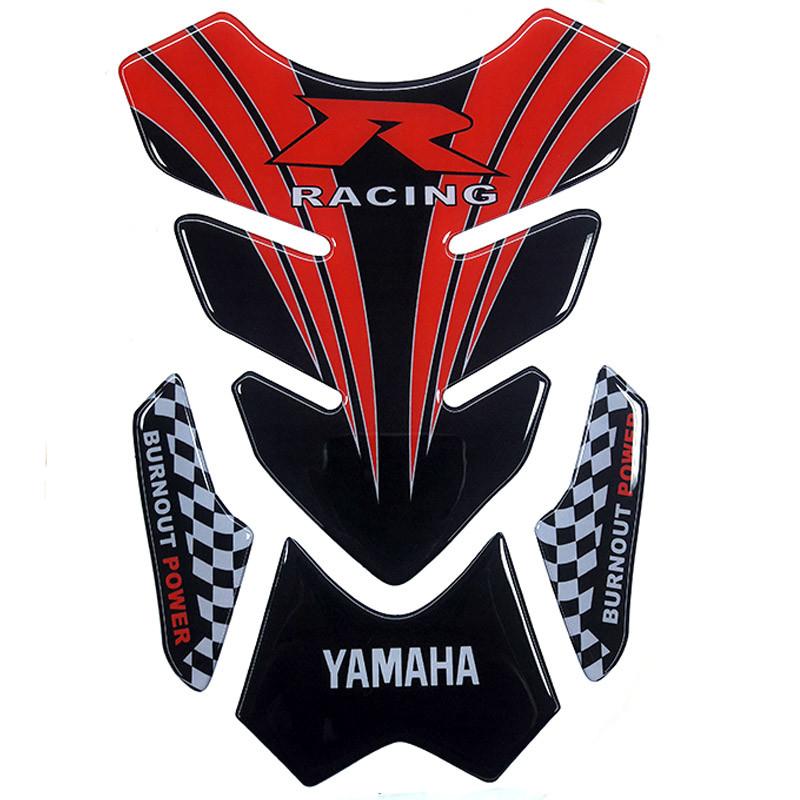 Наклейка на бак NB-4 Yamaha Racing VIP качество