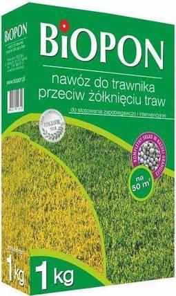 Удобрение для газонов от пожелтения BIOPON 1кг, фото 2