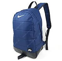 Рюкзак высокого качества, прочного материала синего цвета Nike
