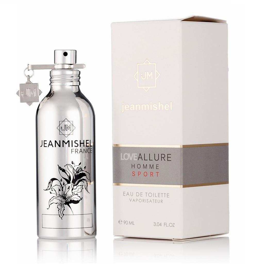 Jeanmishel Love Allure Homme Sport мужской парфюм 90 мл (17)