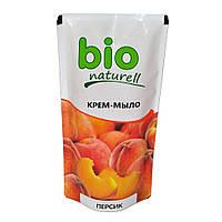 Крем-мило Bio naturell персик 500мл