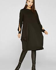 Платье Сеул чёрное Solh
