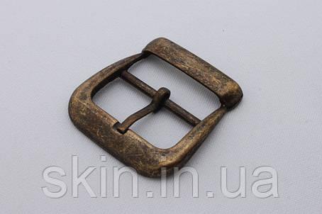 Пряжка сумочная, ширина - 30 мм, цвет - антик, артикул СК 5336, фото 2