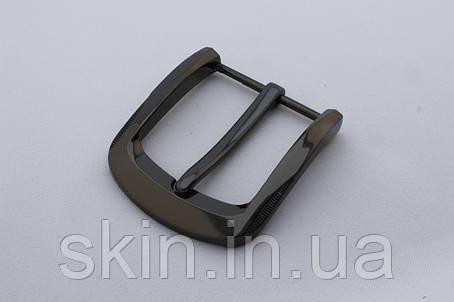 Пряжка ременная, ширина - 40 мм, цвет - черный, артикул СК 5342, фото 2