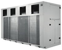 Чиллер воздушного охлаждения EMICON RAE 1102 CU Kc со спиральными  компрессорами и центробежными вентиялторами