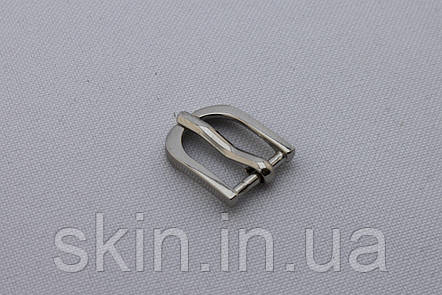 Пряжка ременная, ширина - 10 мм, цвет - никель, артикул СК 5343, фото 2