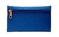 Кошелек женский тканевой голубой 16,5 *9