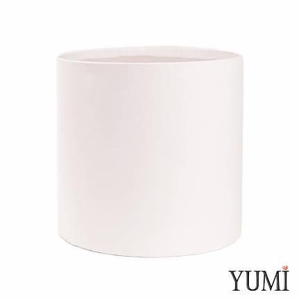 Шляпная коробка 20х20 см белая без крышки, фото 2