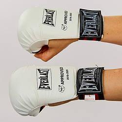 Накладки (перчатки) для карате EVERLAST (манжет на резинке)