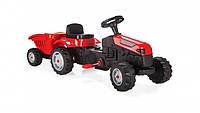 Детский педальный трактор с прицепом Пилсан Active Traktor Велотрактор веломобиль