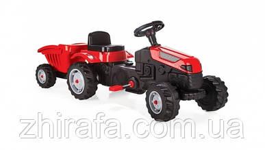 Дитячий педальний трактор з причепом Пилсан Active Traktor Велотрактор веломобіль