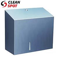 Держатель туалетной бумаги джамбо металлический Stella Duo BSM202 Merida