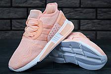 Кроссовки женские Adidas EQT Cushion ADV (розовые) Top replic, фото 2