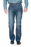 Джинсы мужские franco benussi 1135 темно-синие, фото 6