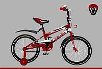 Велосипед детский SPARK KIDS TANK бело красный