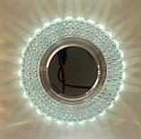 Точечный светильник 7861R LED с подсветкой 6000K, фото 2