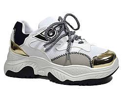 Стильные подростковые кроссовки VIOLETA на высокой подошве для девочки 39,40,41 р