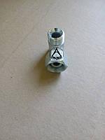 Штуцер гидравлический угловой резьба-гайка М20*1,5/М20*1,5