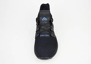 Кросівки чоловічі чорні текстильні Extrem 2297, фото 3