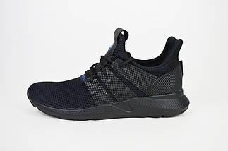 Кросівки чоловічі чорні текстильні Extrem 2297, фото 2