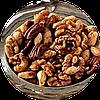 37. Яблука, груші та горіхи в карамелі або ірисі