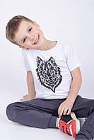 Детская модная футболка для мальчика.