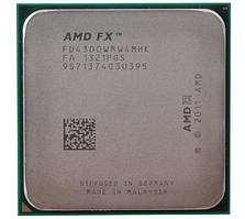 Процессор AMD FX 4300 (4×3.80GHz/8Mb/AM3+) БУ