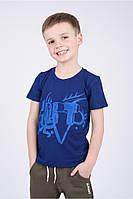 Детская мягкая футболка для мальчиков с короткими рукавами.Разные цвета.