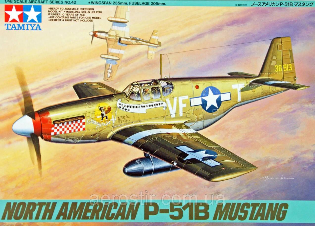 North American P-51B Mustang 1/48 Tamiya 61042