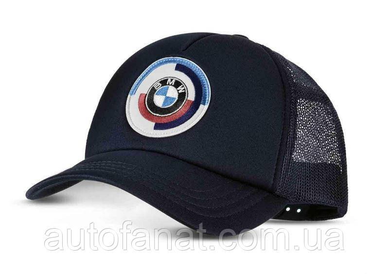 Бейсболка BMW Classic Motorsport Cap, оригинальная черная (80162463120)