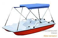 Пластиковые лодки, каяки, водные велосипеды