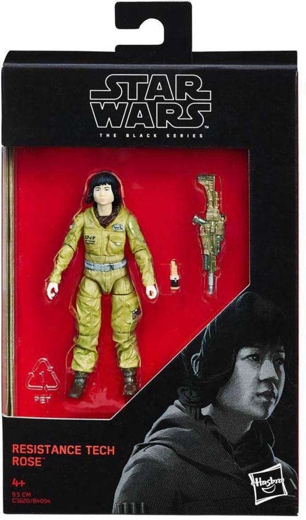 Фигурка 9 см Star Wars Black Series Resistance Tech Rose (The Last Jedi) Hasbro C3620/B4054