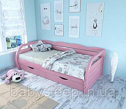 """Кровать подростковая """"Бонита"""" розовая"""