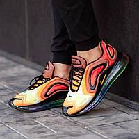 Мужские кроссовки в стиле Nike Air Max 720 Orange (Реплика ААА+), фото 1