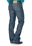 Джинсы мужские Franco Benussi 1273 клёш синие, фото 3