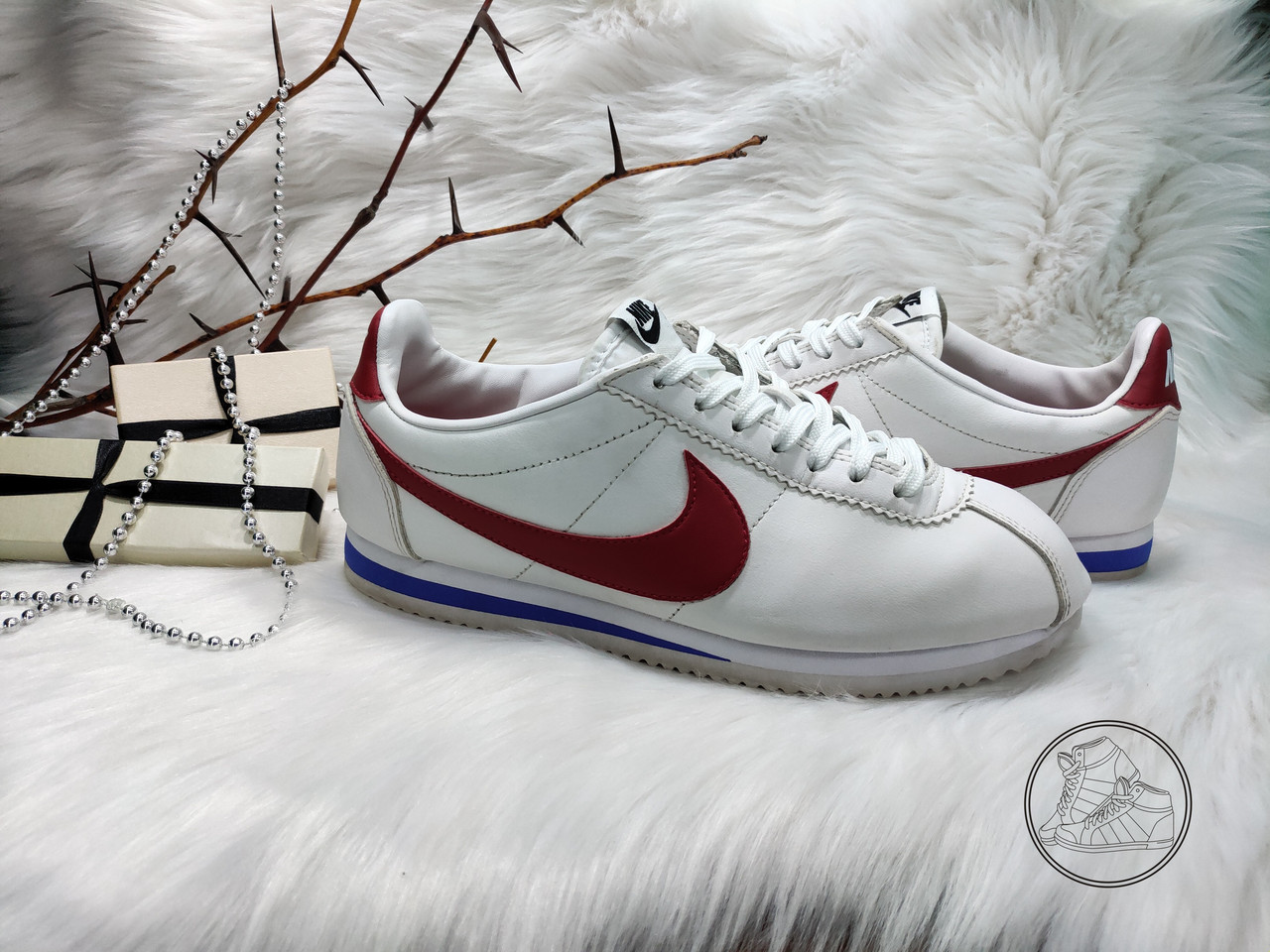 99a634bb Кроссовки Nike Classic Cortez Leather (38 размер) бу: кроссовки от ...