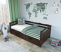 """Кровать подростковая """"Алина"""" цвет венге"""