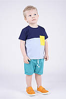 Стильная детская футболка.Размер 110-128.
