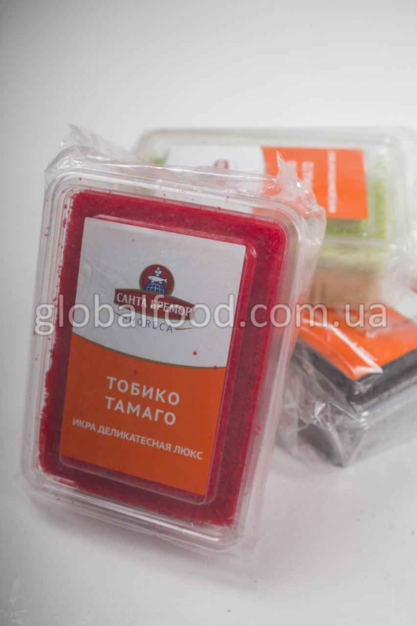 Икра Тобико Тамаго Красная Замороженная (0,5 кг.)